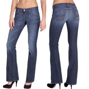 7 For All Mankind Flare Stretch Flare Jeans 26